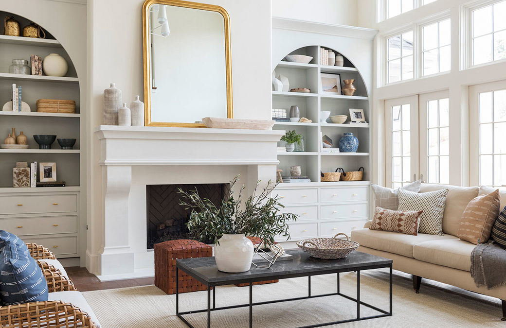 Transitional Interior Design Living Rooms